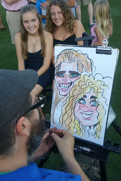 Fit N Fun Caricaturist